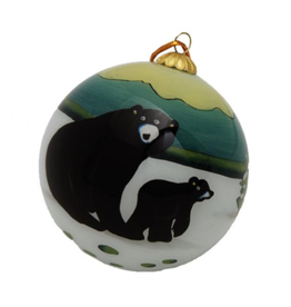 Panabo Sales Glass Painted Ornament