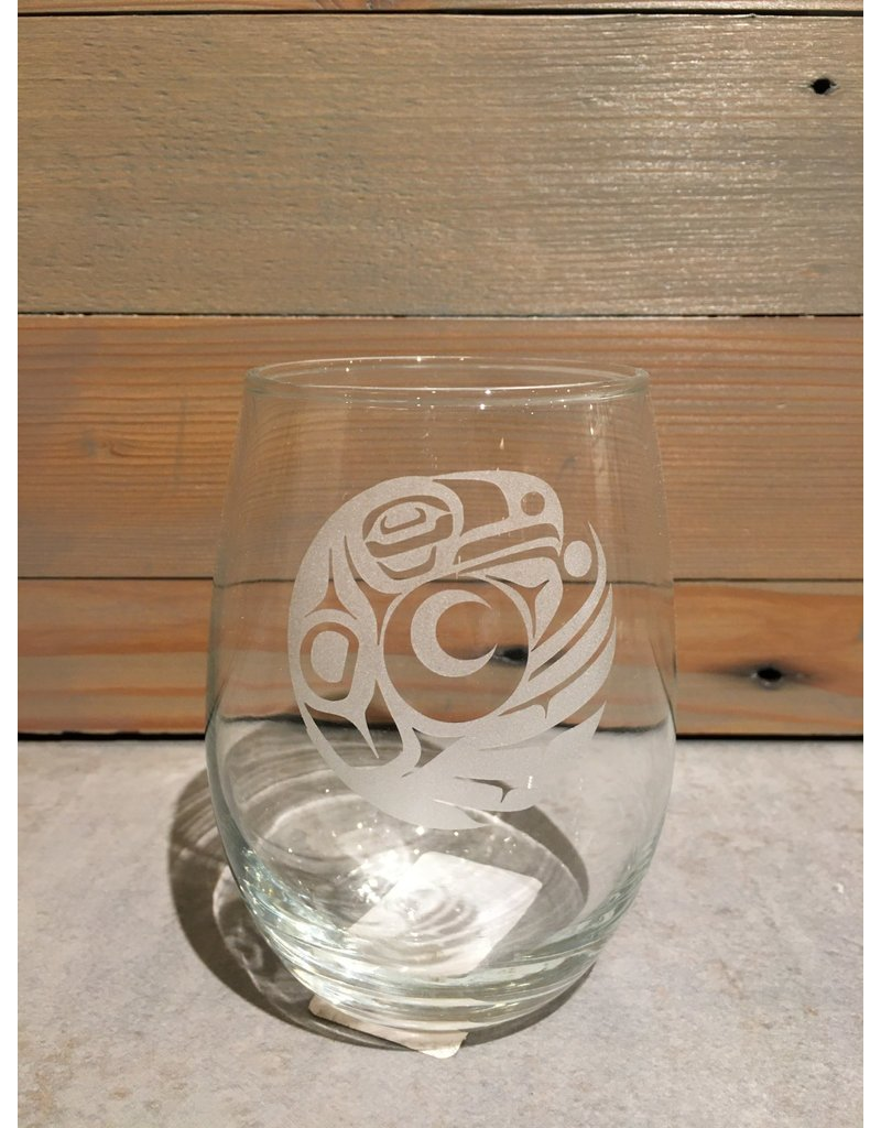 Mike Forbes Stemless Wineglass