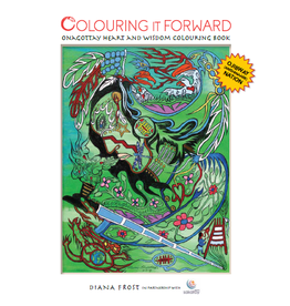 Colouring It Forward INC. Onagottay Heart And Wisdom Colouring BK