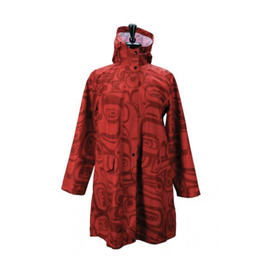 Panabo Sales Raven Red Rain Coat