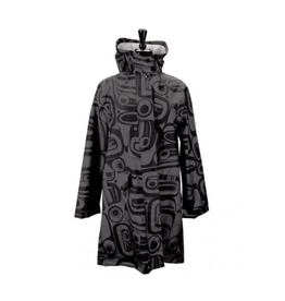 Panabo Sales Raven Charcoal Rain Coat