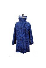 Panabo Sales Raven Dark Blue Rain Coat