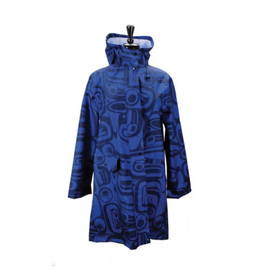 Panabo Sales Raven Dark Blue Rain Coat
