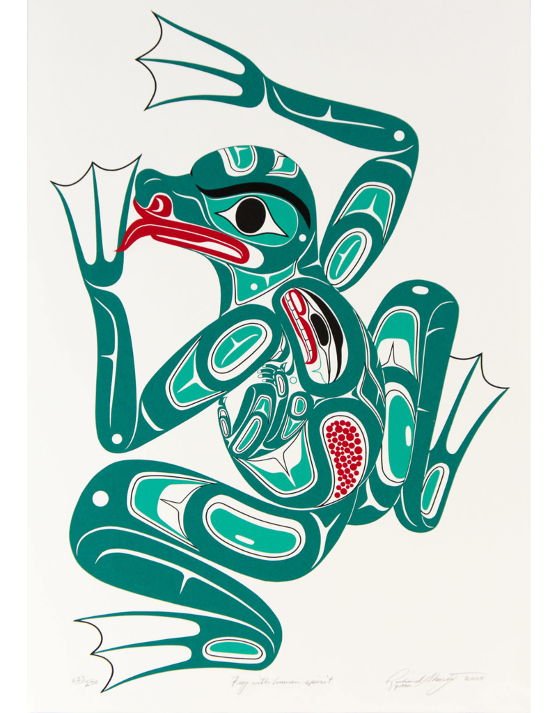 Shorty, Richard Frog with Human Spirit