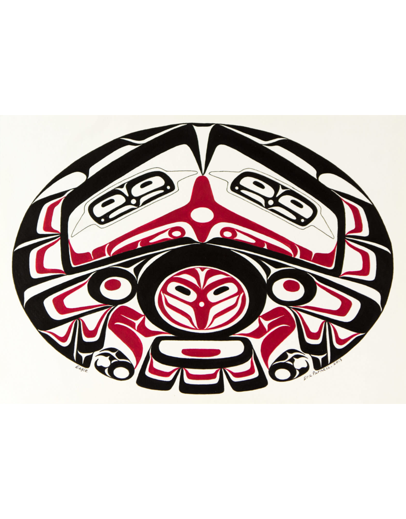Parnell, Eric Haida Eagle EP Print
