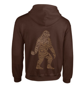 Native Northwest Hoodie Zippered - Sasquatch