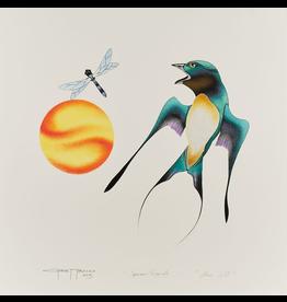 Tobacco, Garnet Close Call - Sparrow & Dragonfly Original