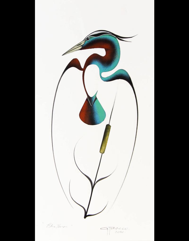Tobacco, Garnet Blue Heron - GT