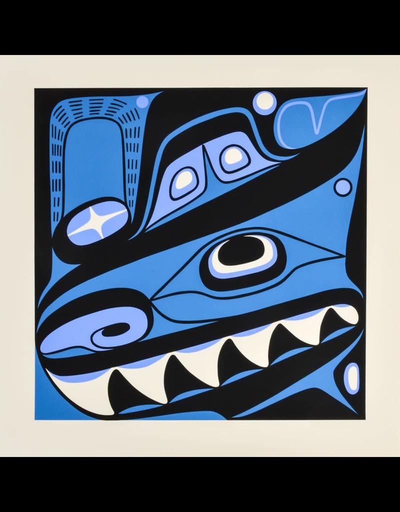 Campbell, Lyle Haida Killer Whale Print