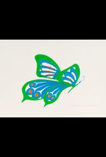 Bull, Pauline Green Butterfly - Original