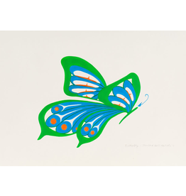 Bull, Pauline Green Butterfly - Original