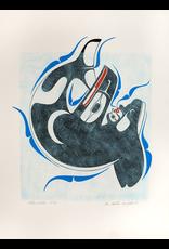 Houstie, Ben Killer Whale (Underwater) Original Houstie