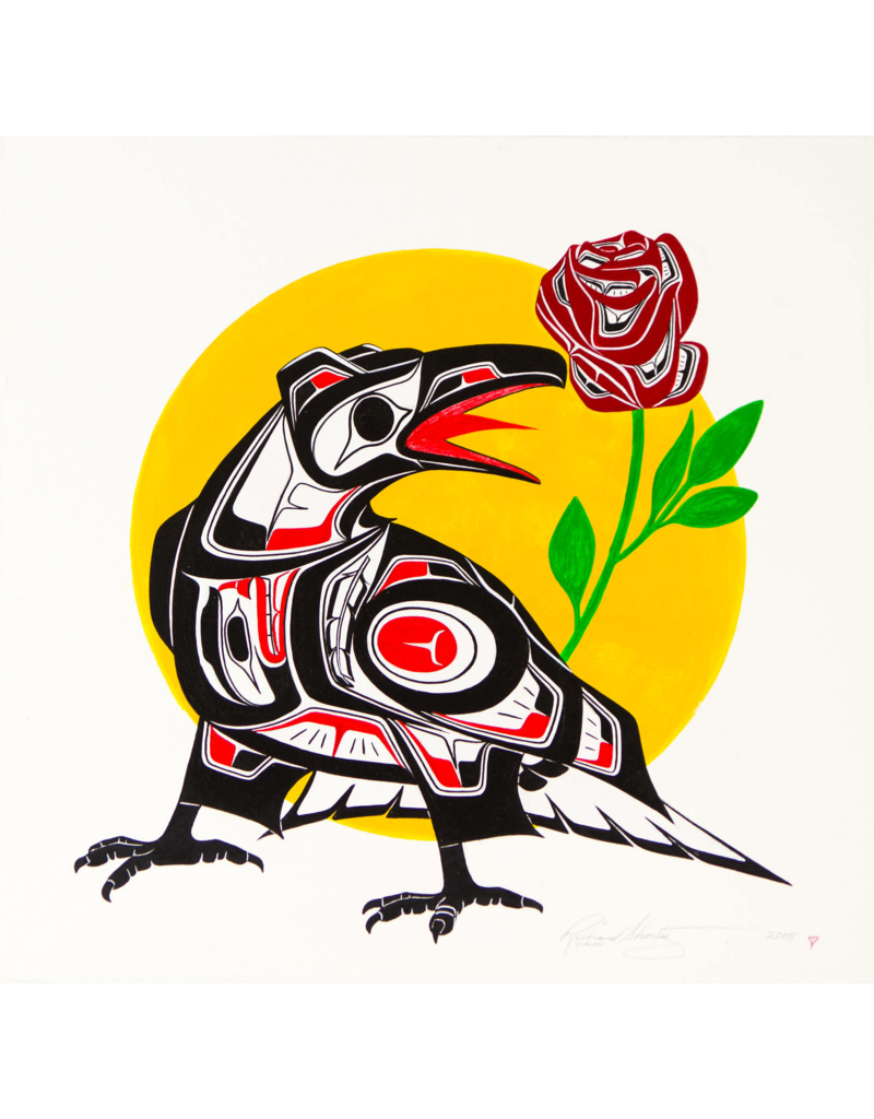 Shorty, Richard Crow Raven Rose Original RS