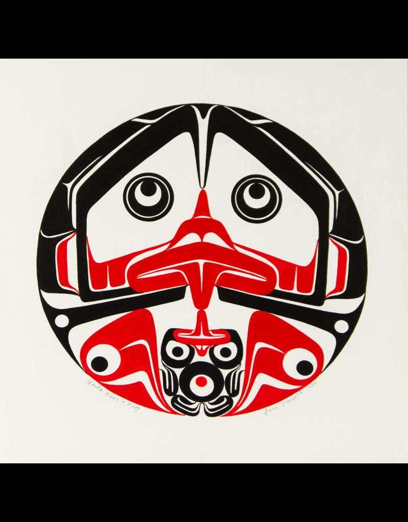 Parnell, Eric Haida Bear & Frog - Original