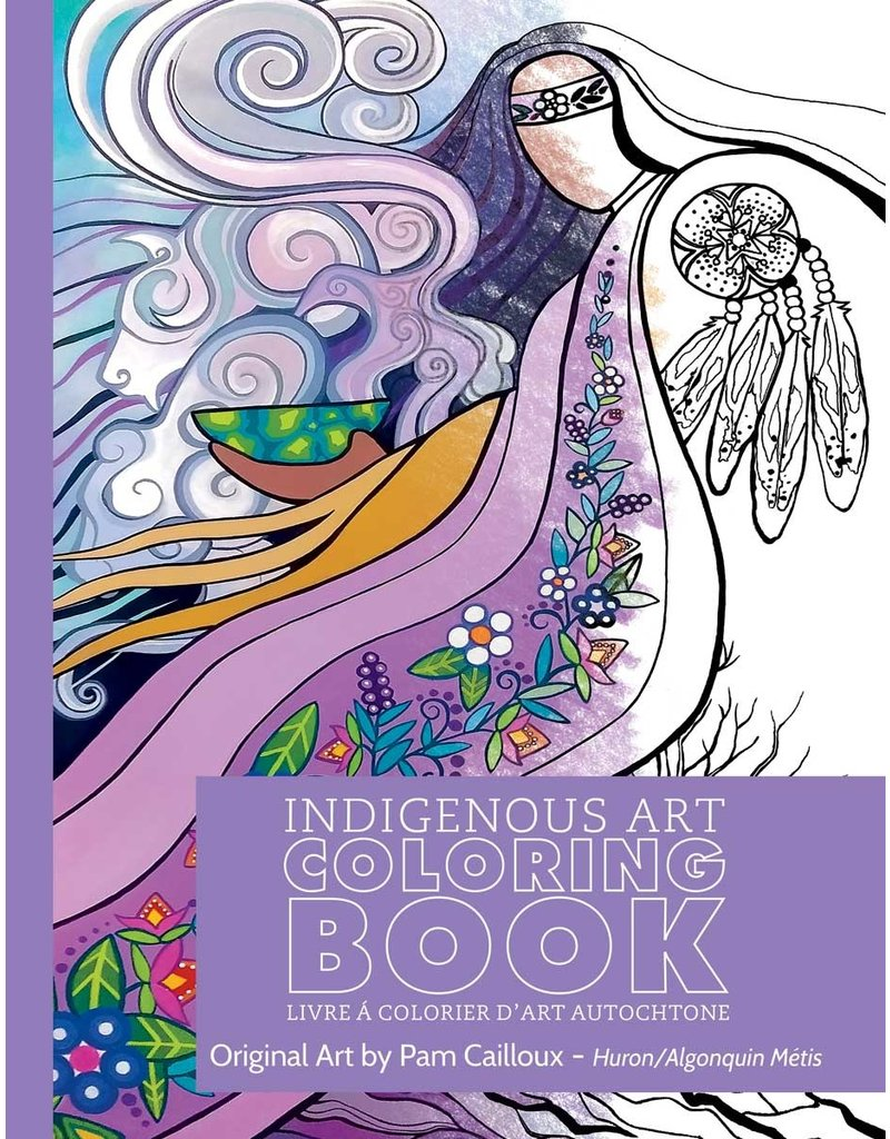 Canadian Art Prints Colouring Book - Metis