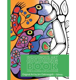 Canadian Art Prints Colouring Book - Ojibway