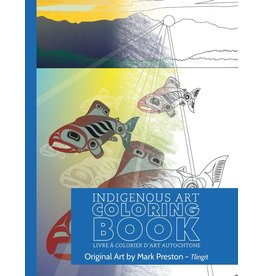 Canadian Art Prints Tlingit Colouring Book