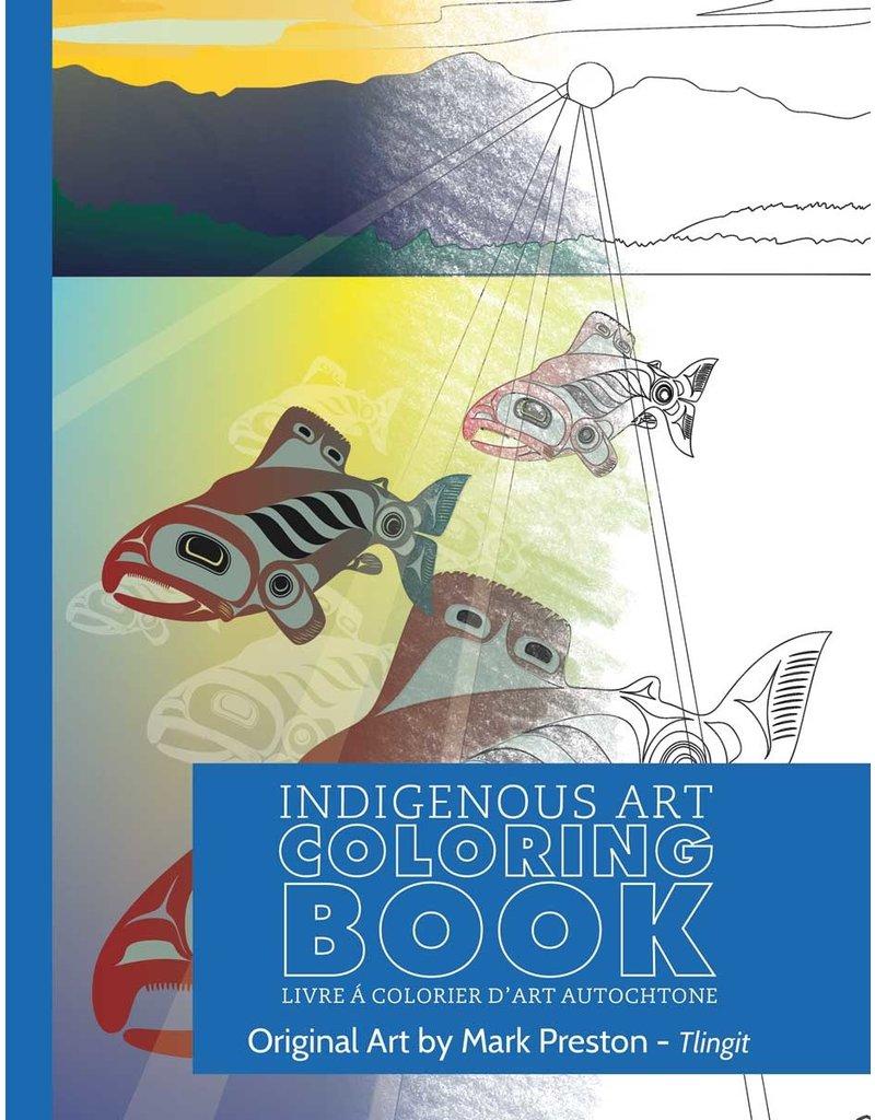 Canadian Art Prints Tlingit Colouring Book