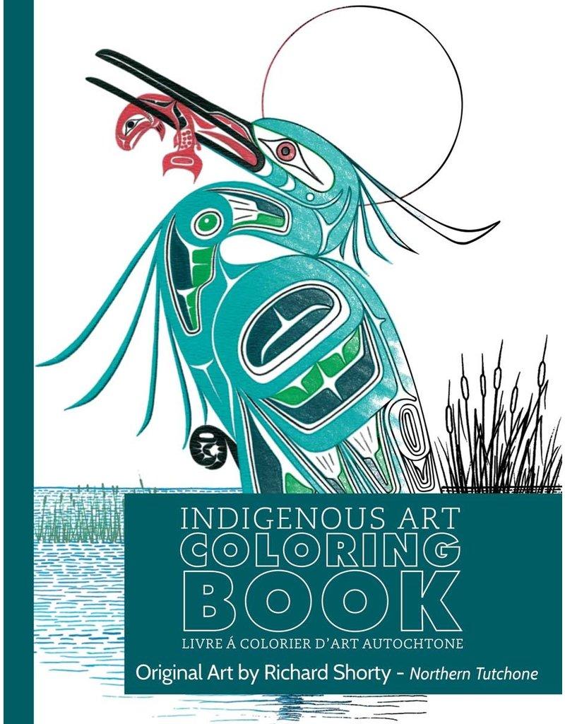 Canadian Art Prints Colouring Book Heron