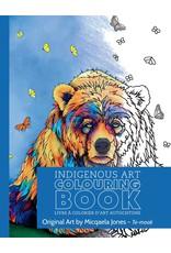 Canadian Art Prints Colouring Book Bear