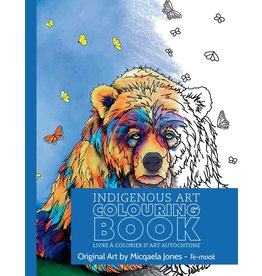 Canadian Art Prints Colouring Book Bear
