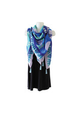 Native Northwest Tapestry Scarf - Hummingbird