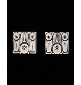 Greene Shoshannah Abstract Silver Earring