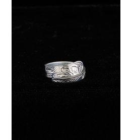 Harper Victoria Otter Wrap Silver Ring