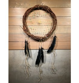McKay Patricia Dream Catcher - Wood 12""