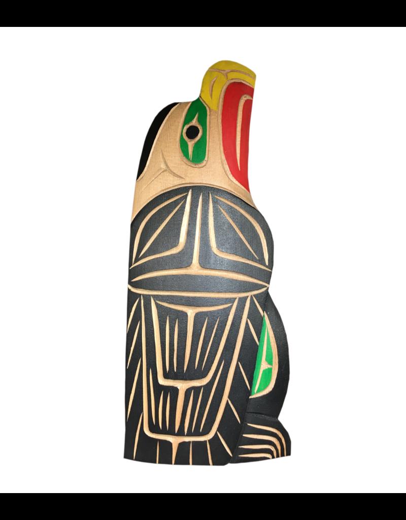 Neil Baker Bald Eagle Carving