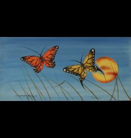Tobacco, Garnet Harmony Original Painting