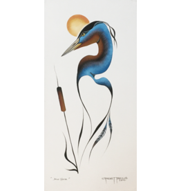 Tobacco, Garnet Blue Heron Original