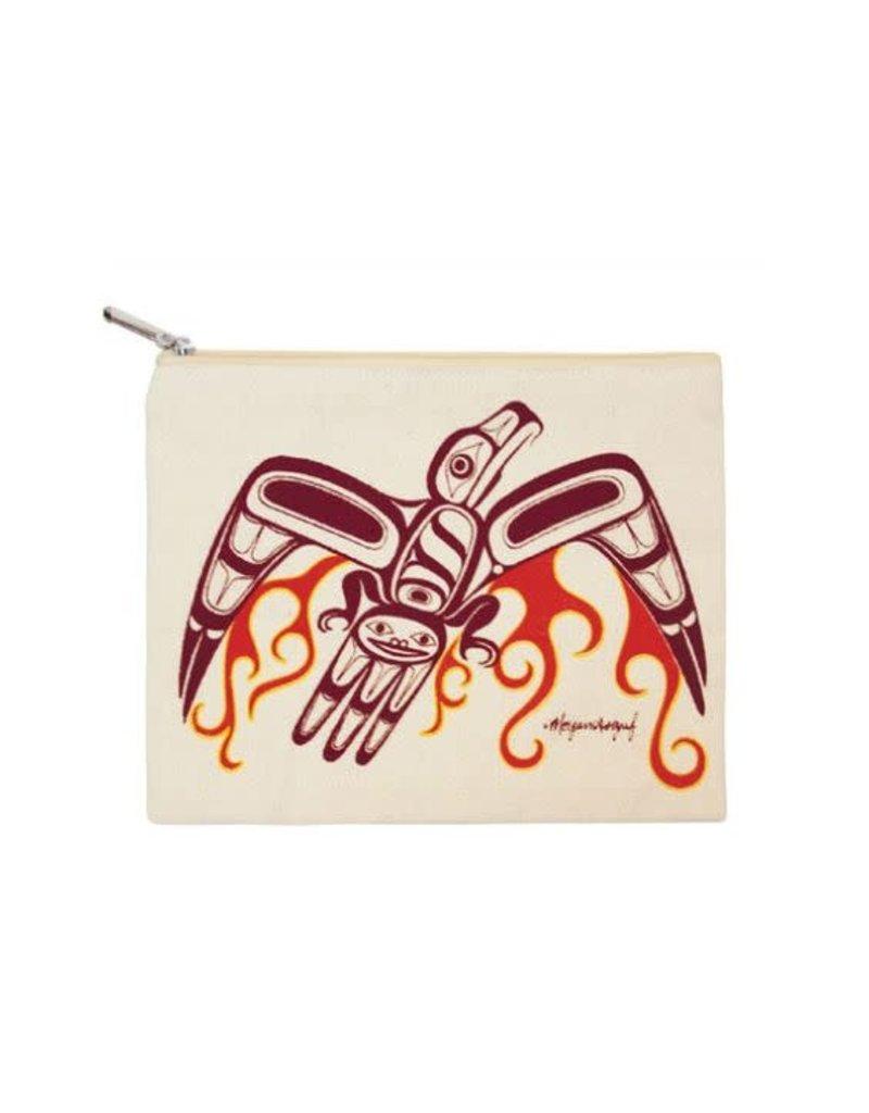 Native Northwest Canvas Zippered Pouch