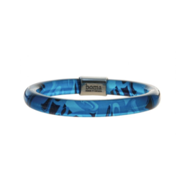 Hunt, Corrine Bangle With Pewter - Turquoise (Small)
