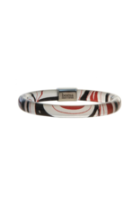 Robinson, Kelly Bangle With Pewter - Red/Black (Medium)