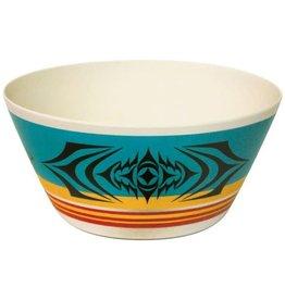 """Native Northwest Salish Sunset Bowl 10"""""""