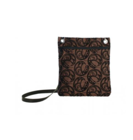 Connie Dickens Raven Brown Town Bag