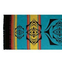 Native Northwest Salish Sunset Tapestry