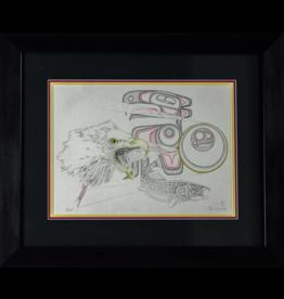 Yaklin, Charles (Silverfox) Eagle & Salmon