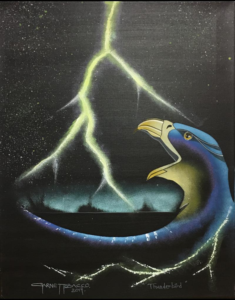 Tobacco, Garnet Thunderbird Original On Canvas GT