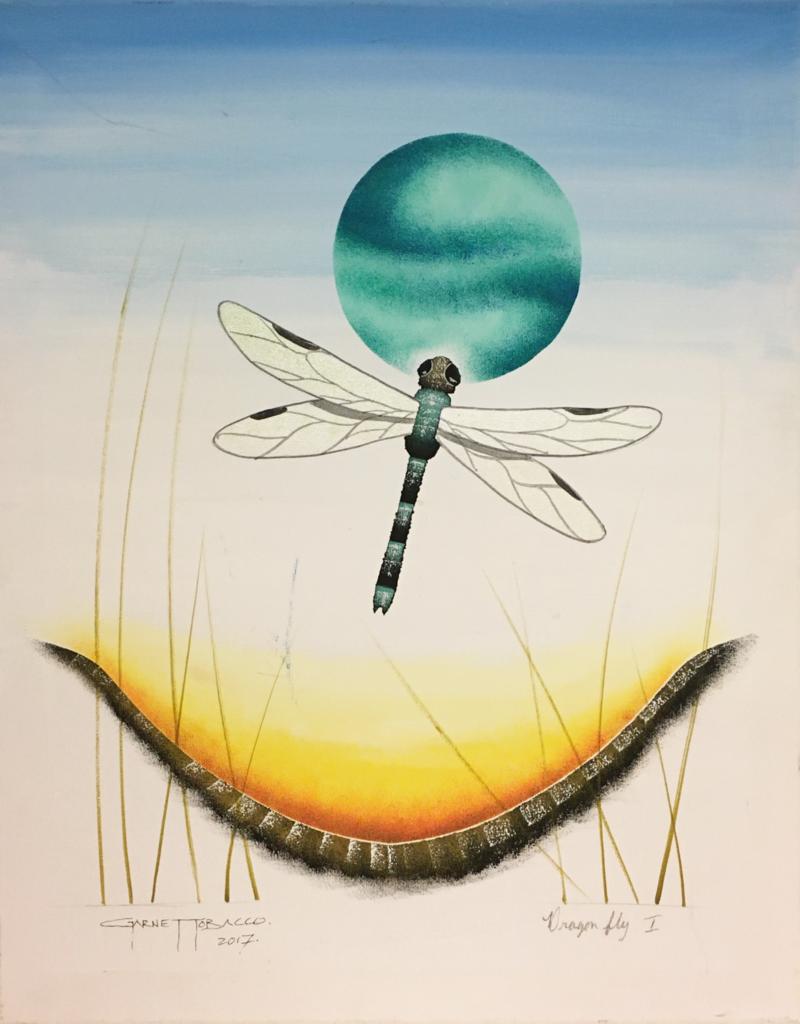 Tobacco, Garnet Dragonfly I