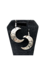 Nancy Dawson Moon Silver Earring