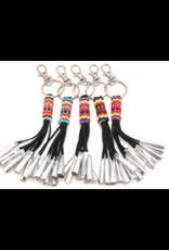 Fourdwholesale Jingle Fringe Key Chain