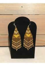 Skyla Morriseau Gold Beaded Earring