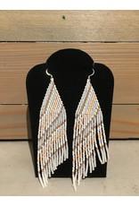 Skyla Morriseau Pastel Colour Beaded Earring