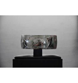 Nancy Dawson Raven 3/4 Silver Bracelet