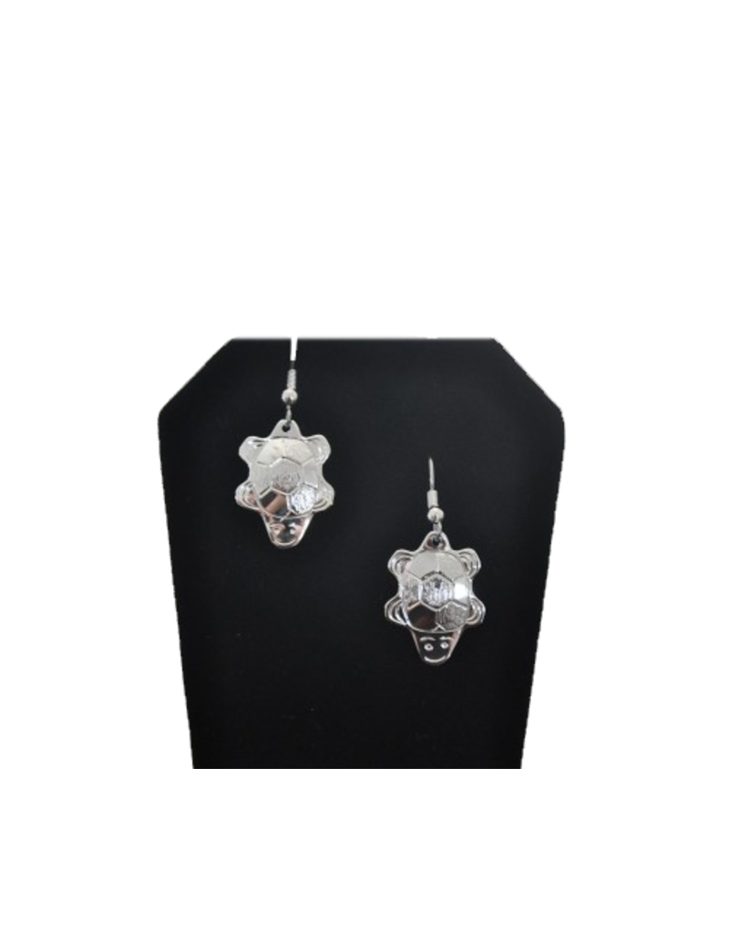 Vincent Henson Turtle Silver Earring