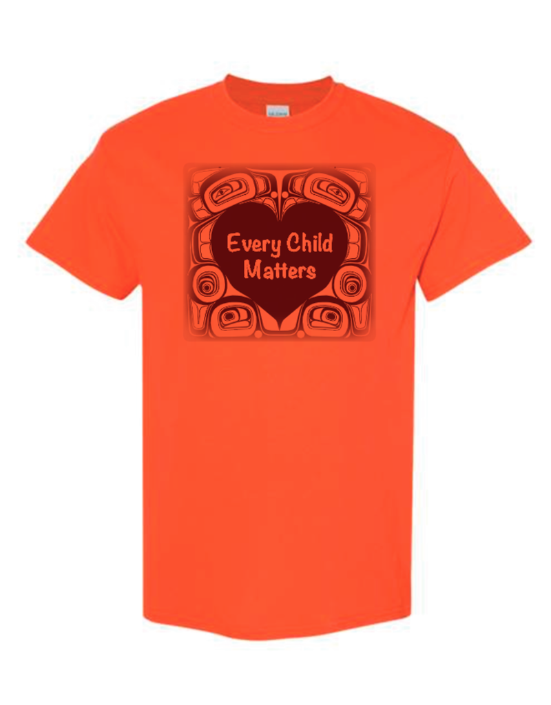 Orange T-Shirt/Eagle Youth