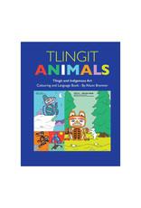 Native Northwest Tlingit Animal Coloring & Language