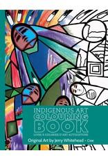 Canadian Art Prints Colouring Book - Cree JW